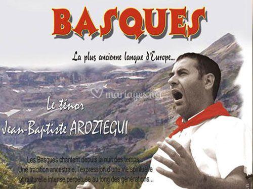 Cérémonie religieuse chants basques