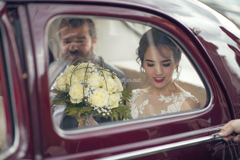 Arriver de la mariée