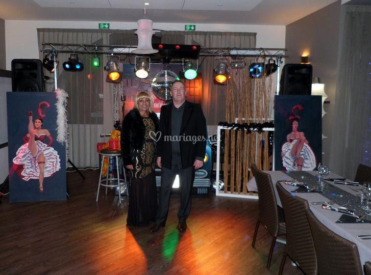 Mariage moulin rouge biarritz