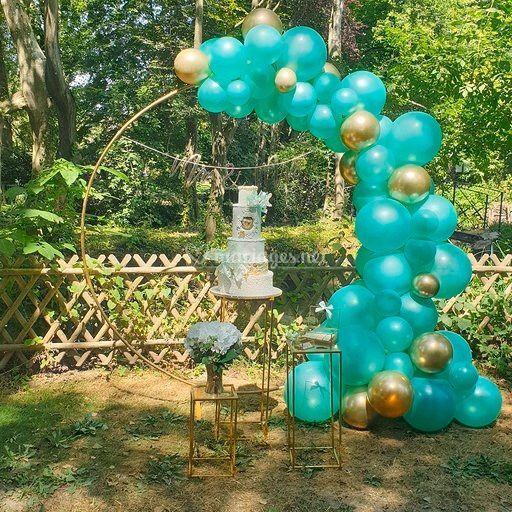 Anneau Guirlande de Ballons
