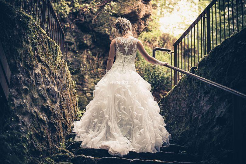 After days mariage en forêt