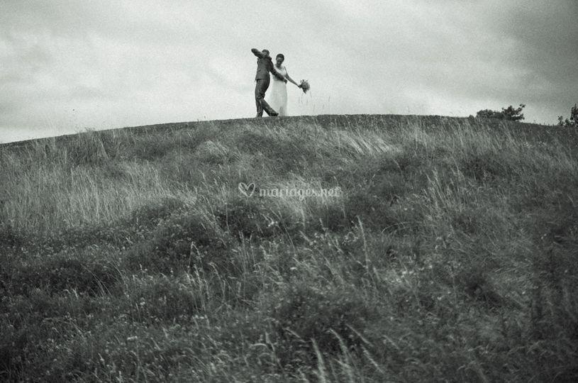 Séance de couple sur le golfe