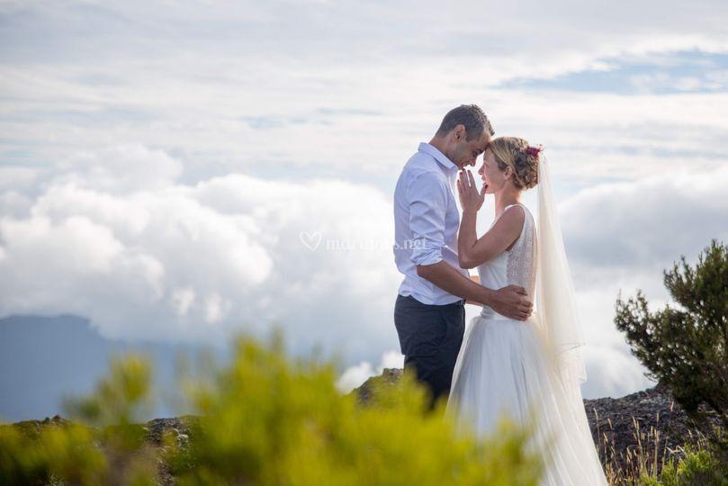 After The wedding à la Réunion