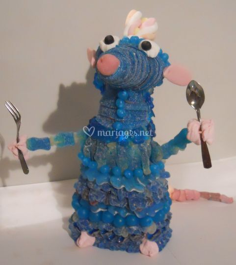 Ratatouille en bonbons