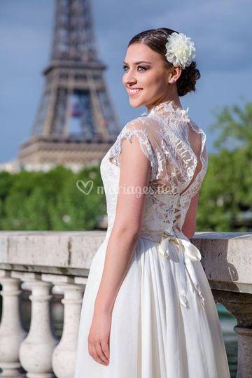 Mariée Parisienne