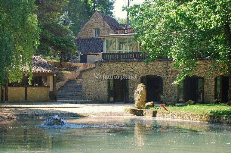 Moulin de Surier salle du lac