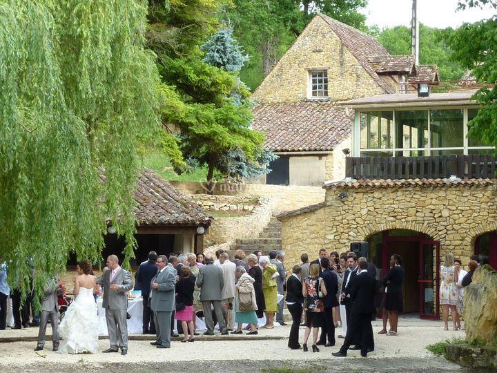 Mariage au Moulin de Surier