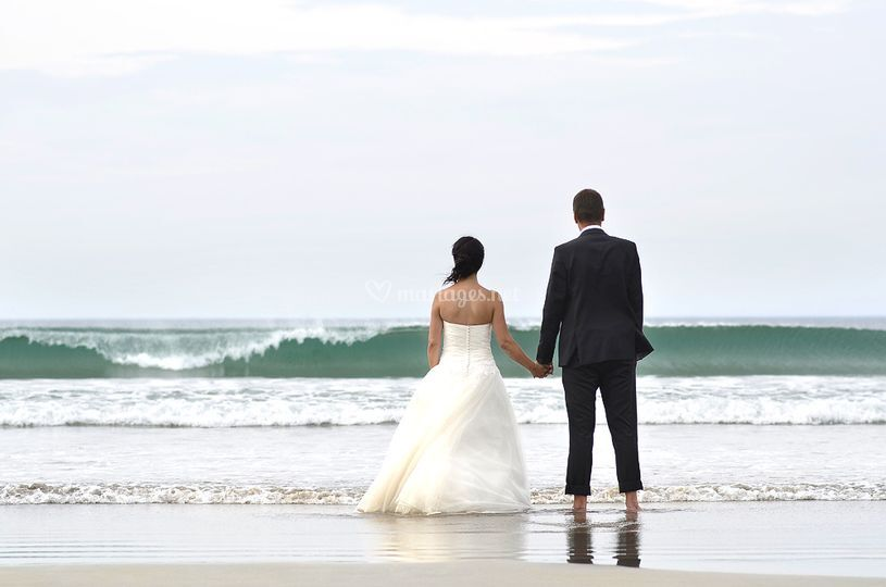 Mariage Plage Costume Homme : Jacques monot photographie