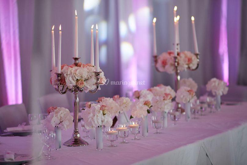 Connu Mariage blanc et rose poudré de J'Organise mon Mariage | Photos QL85