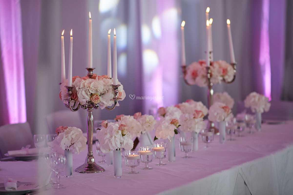Célèbre Mariage blanc et rose poudré de J'Organise mon Mariage | Photos GU53