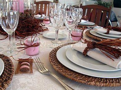 vaisselle exotique de lunch service photo 13. Black Bedroom Furniture Sets. Home Design Ideas