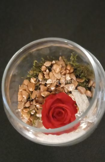 Vase rond Flor/Lumineux