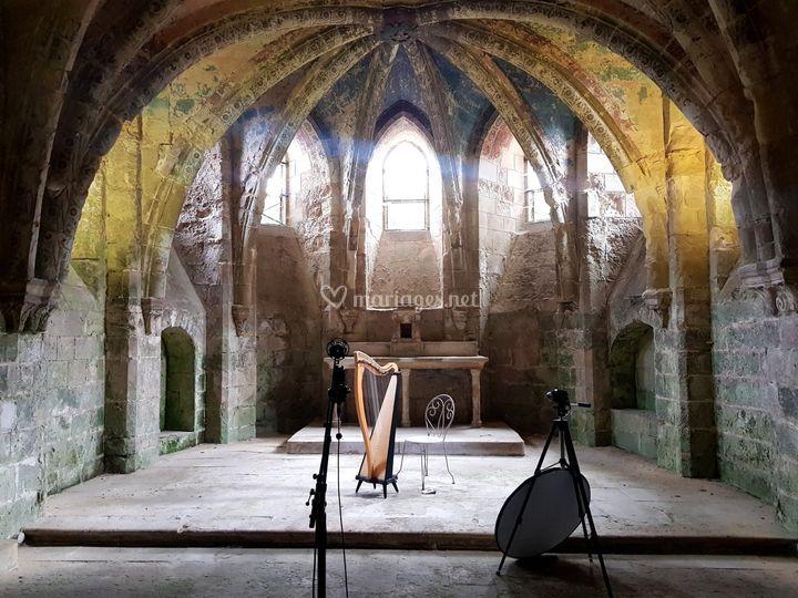 Enregistrement Abbaye Soisson
