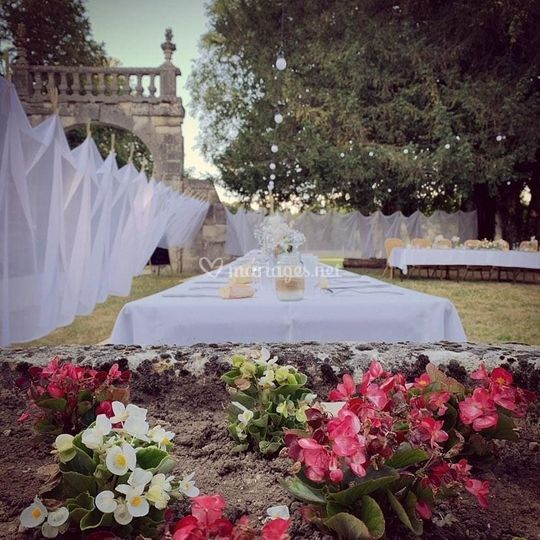 Mariage Abbaye des 3 fontaines