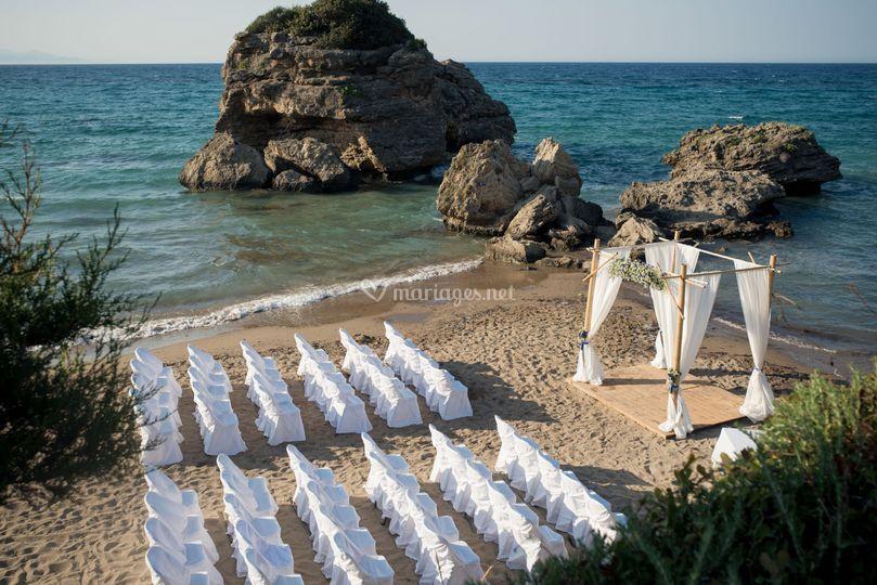 Mariage de rêve plage