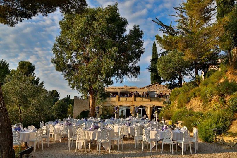Mariage Château en Provence