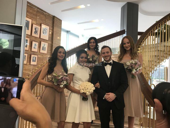 Mariage civil à Paris
