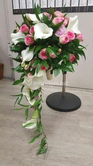 Bouquet chute avec poignée