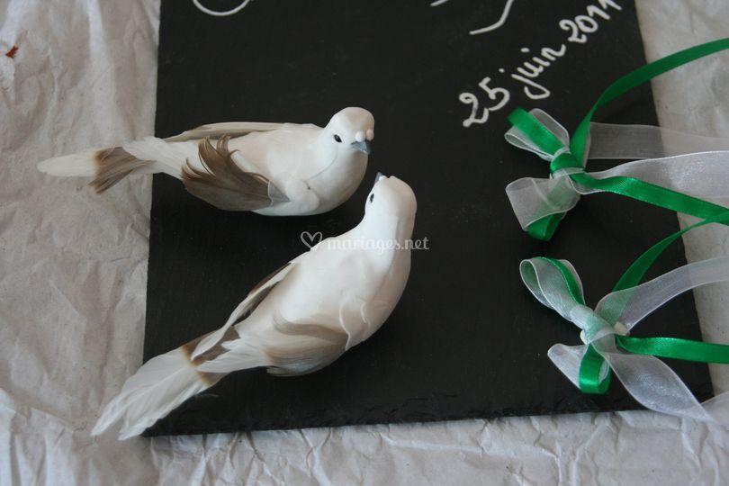 Porte alliance colombe