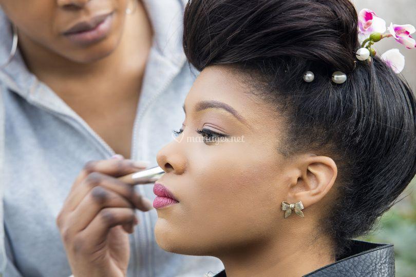 Makeup et coiffure