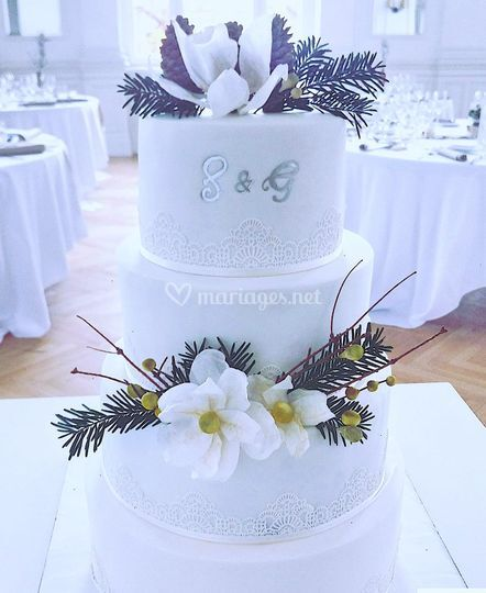 Wedding Cake Nature De Happy House Cakes Photo 9
