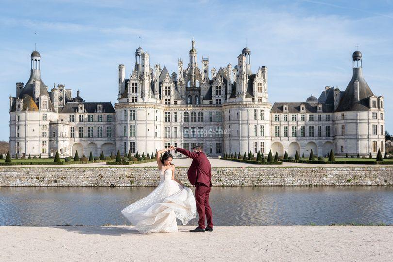 Séance couple à Chambord