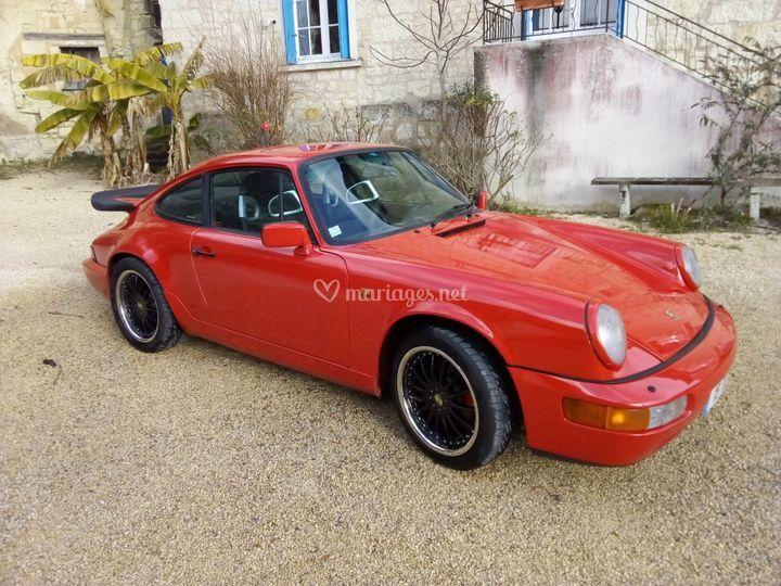 Porsche 911 coté droit