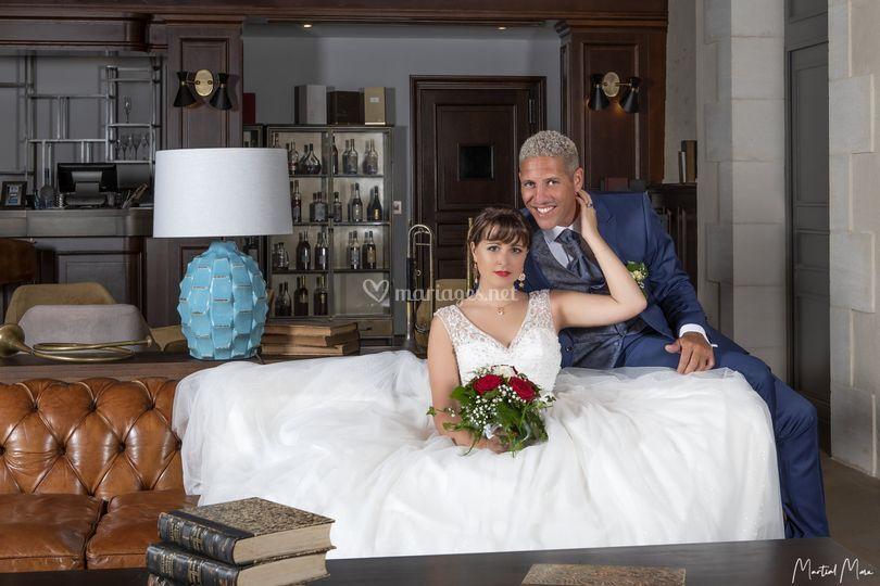 Robe de mariée/ Costume