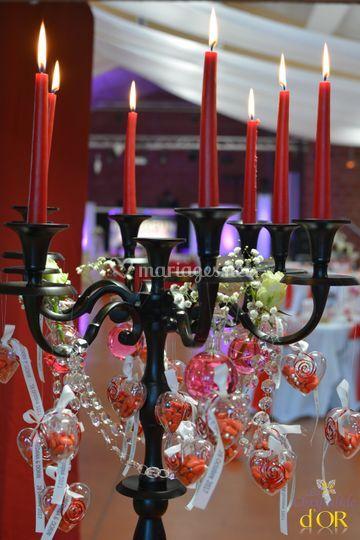 Table Decoration Noire Et Dor Ef Bf Bde