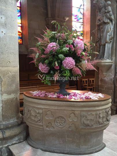 Bouquet Eglise