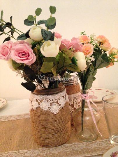 Table vintage champêtre