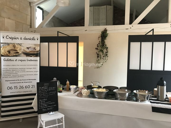Stand galettes & crêpes