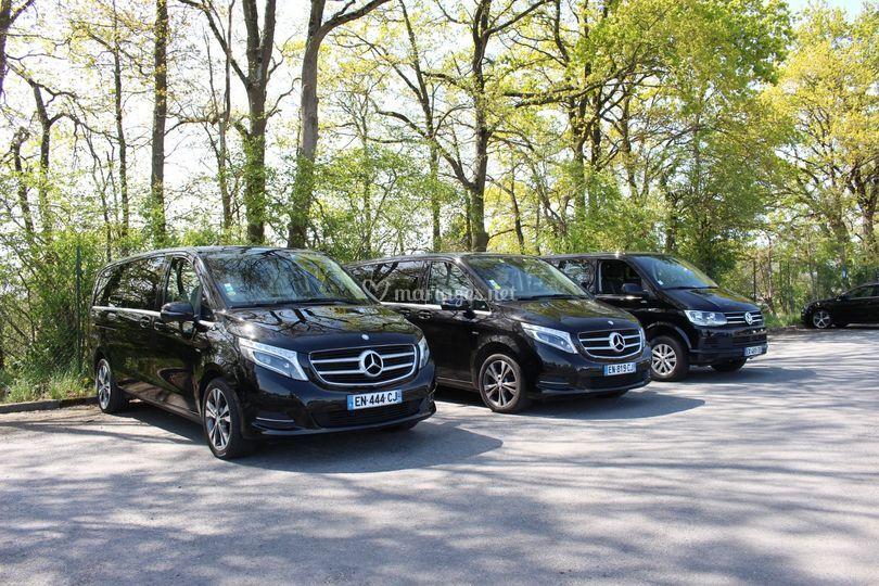 1 ou plusieurs véhicules