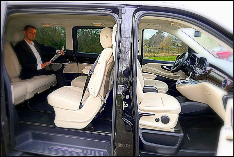 mercedes classe v int rieur de breizhcab vtc chauffeurs photo 6. Black Bedroom Furniture Sets. Home Design Ideas