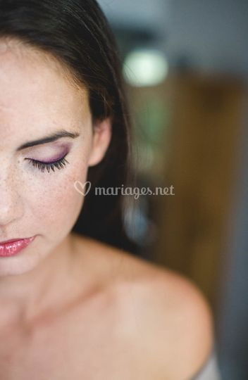 Make-up mariée
