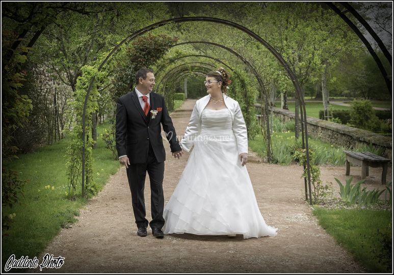 La promenade des mariés
