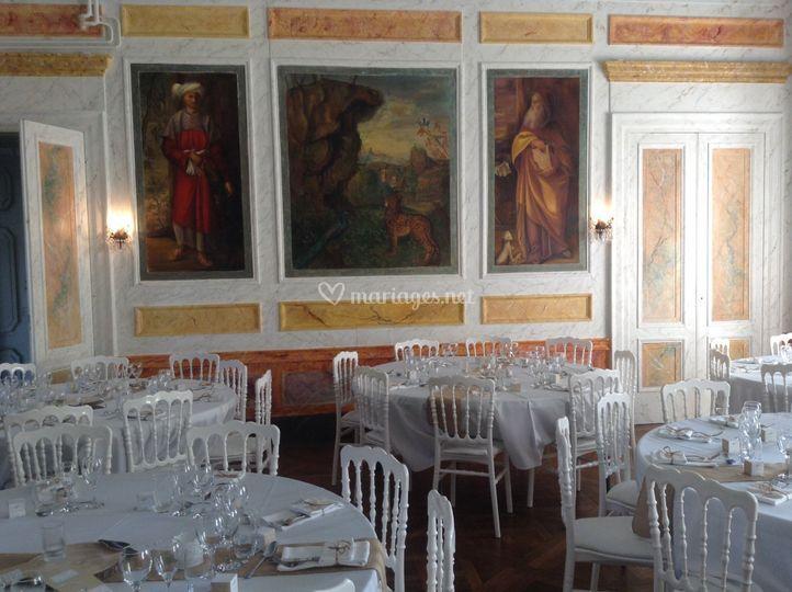 La salle de fresques