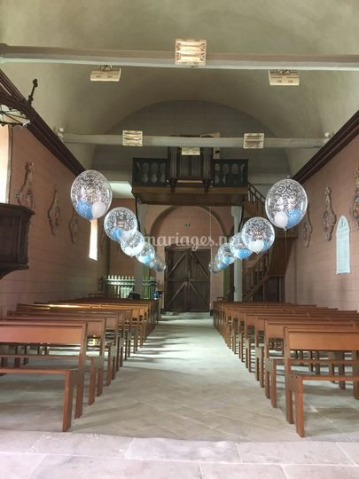 Ballon église