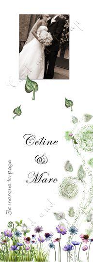 Marque-page / Cadeau invité