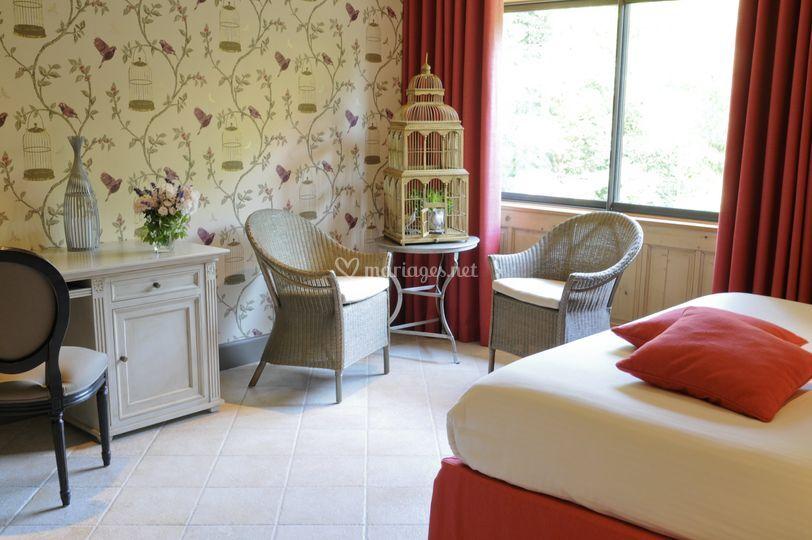 chambre luxe sur chteau de candie - Chateau De Candie Mariage