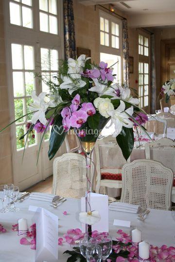 dcoration de table sur chteau de candie - Chateau De Candie Mariage