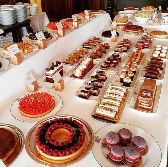 Buffet de pâtisserie