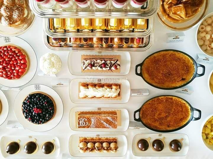 Buffet de pâtisseries