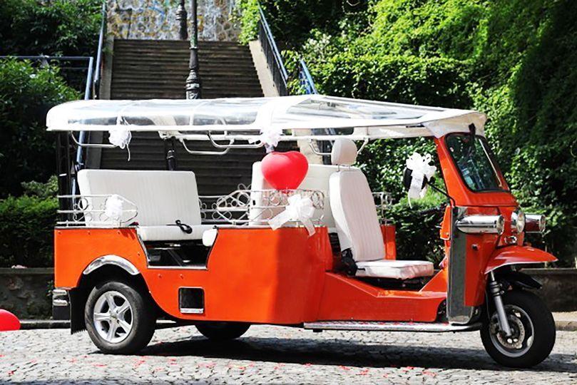 Vehicule décoré