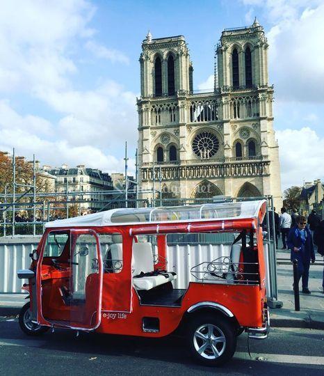 Tuktuk à Paris
