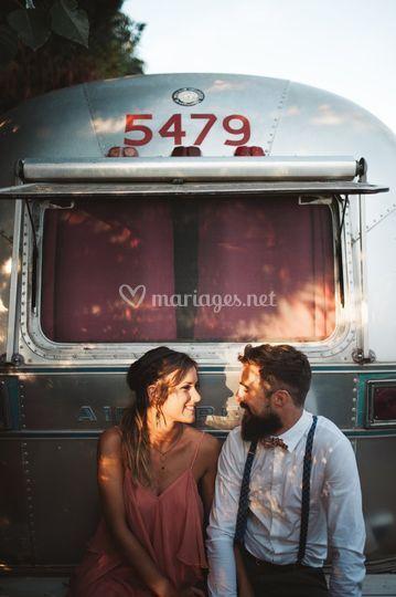 Caravan wedding