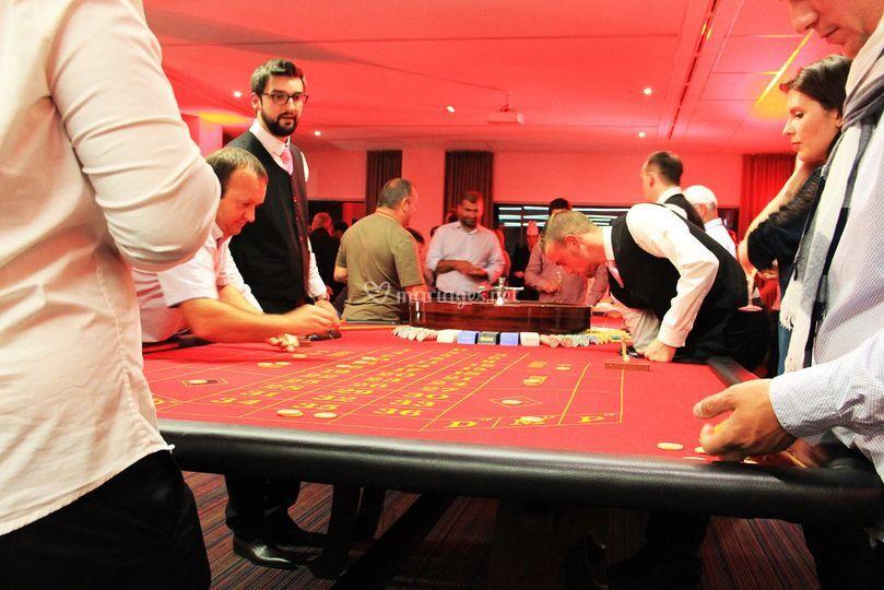 Soirée animation Casino