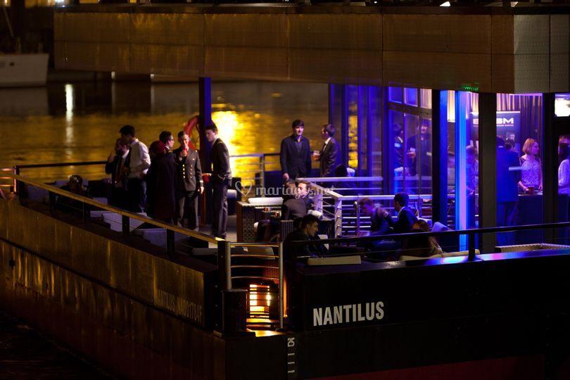 Terrasses Nantilus, la nuit