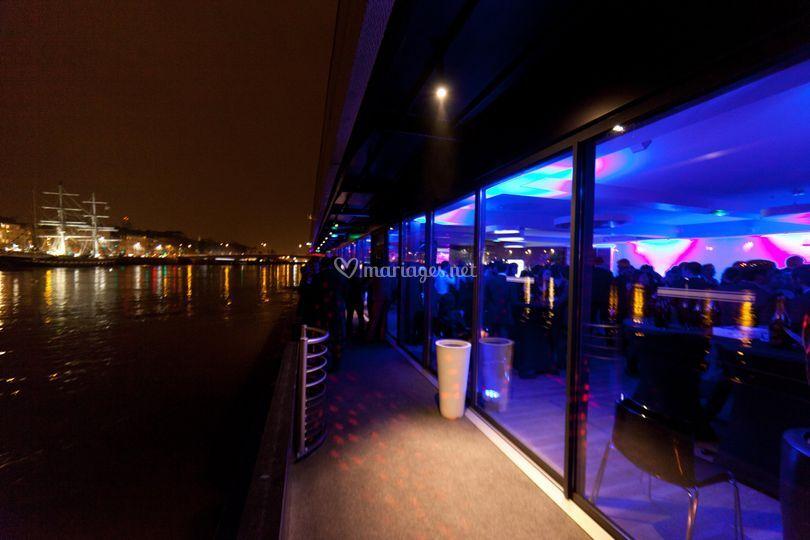 La Loire de nuit