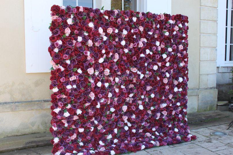 Mur de Fleurs 3D